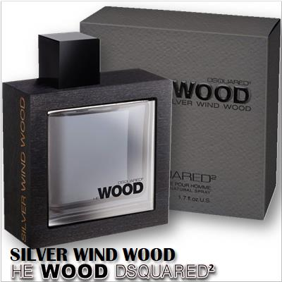 He Wood Silver Wind Wood (Dsquared2)